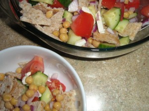 summer of my Greek salad